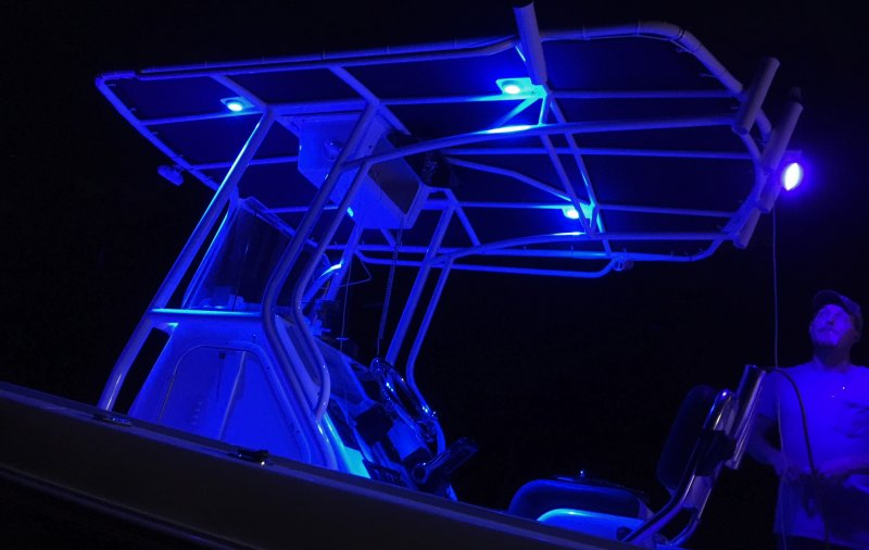 Commercial Boat Towers produces fabulous LED lighting for an ultimate nightime experience.